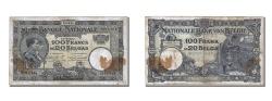 World Coins - Belgium, 100 Francs-20 Belgas, 1928, KM #102, 1928-08-28, VF(30-35), 857.C.004