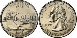 Us Coins - Coin, United States, Minnesota, Quarter, 2005, U.S. Mint, Philadelphia