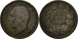 World Coins - Coin, Portugal, Luiz I, 20 Reis, 1883, , Bronze, KM:527