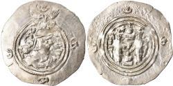 Ancient Coins - Coin, Sasanian Kings, Khusrau II, Drachm, MY (Meshan), , Silver