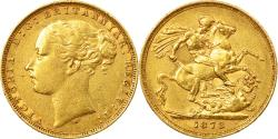 World Coins - Coin, Australia, Victoria, Sovereign, 1878, Melbourne, , Gold, KM:7
