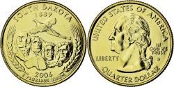 Us Coins - Coin, United States, South Dakota, Quarter, 2006, U.S. Mint, , Gold