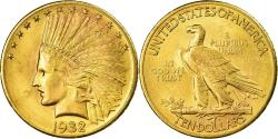 Us Coins - Coin, United States, Indian Head, $10,1932, Philadelphia, Gold, ,KM 130