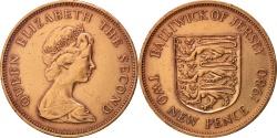 World Coins - Jersey, Elizabeth II, 2 New Pence, 1980, , Bronze, KM:31