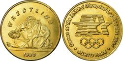 Us Coins - United States of America, Medal, Jeux Olympiques de Los Angeles, Wrestling