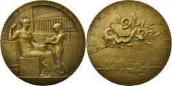 World Coins - France, Medal, Banque, Agents de Change de Paris, 1898, Roty, , Copper