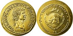 World Coins - Coin, Palau, 1 Dollar, 2010, Claudius, , Gold
