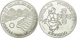 World Coins - Coin, Portugal, 1000 Escudos, 2000, AU(55-58), Silver, KM:724