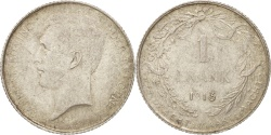 World Coins - Belgium, Franc, 1913, , Silver, KM:73.1
