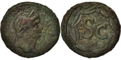 Ancient Coins - Domitian, As, 76-77, Antioch, , Copper
