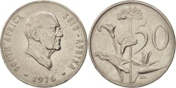 World Coins - South Africa, 50 Cents, 1976, , Nickel, KM:96