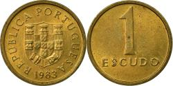World Coins - Coin, Portugal, Escudo, 1983, , Nickel-brass, KM:614