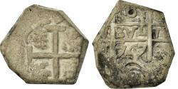 World Coins - Coin, Bolivia, Ferdinand VI, 8 Reales, 1747, Potosi, , Silver, KM:40