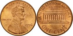 Us Coins - Coin, United States, Lincoln Cent, Cent, 1996, U.S. Mint, Philadelphia