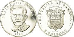World Coins - Coin, Panama, 5 Balboas, 1979, U.S. Mint, Proof, , Silver, KM:40.1a