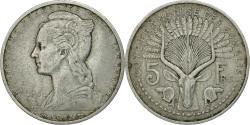 World Coins - Coin, French Somaliland, 5 Francs, 1948, Paris, , Aluminum, KM:6
