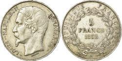World Coins - Coin, France, Napoléon III, 5 Francs, 1852, Paris, , Silver, KM:773.1