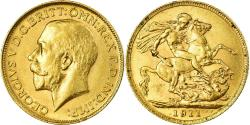 World Coins - Coin, Great Britain, George V, Sovereign, 1911, , Gold, KM:820