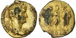 Coin, Hadrian, Aureus, 128-132, Rome, Fourrée, , Gold plated, RIC:349