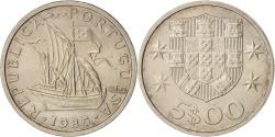 World Coins - Portugal, 5 Escudos, 1985, , Copper-nickel, KM:591