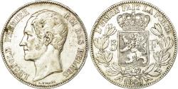 World Coins - Coin, Belgium, Leopold I, 5 Francs, 5 Frank, 1849, , Silver, KM:17