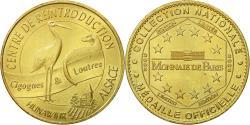 World Coins - France, Token, Touristic token, 68/ Centre de Réintroduction - Hunawihr, 2005