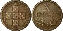 World Coins - Coin, Portugal, 10 Centavos, 1951, , Bronze, KM:583