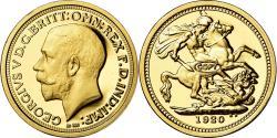 World Coins - France, Medal, Réplique Souverain Georges V, , Gold