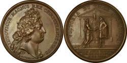 World Coins - France, Medal, Louis XIV, Mariage du Dauphin avec Marie-Anne de Bavière, 1680
