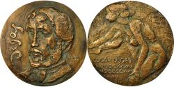 World Coins - France, Medal, Fonte, Edgar Degas, Numérotée 16/20, 1949, Revol,