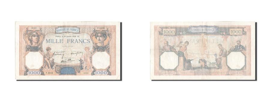World Coins - France, 1000 Francs, 1 000 F 1927-1940 ''Cérès et Mercure'', 1939, KM:90c,...