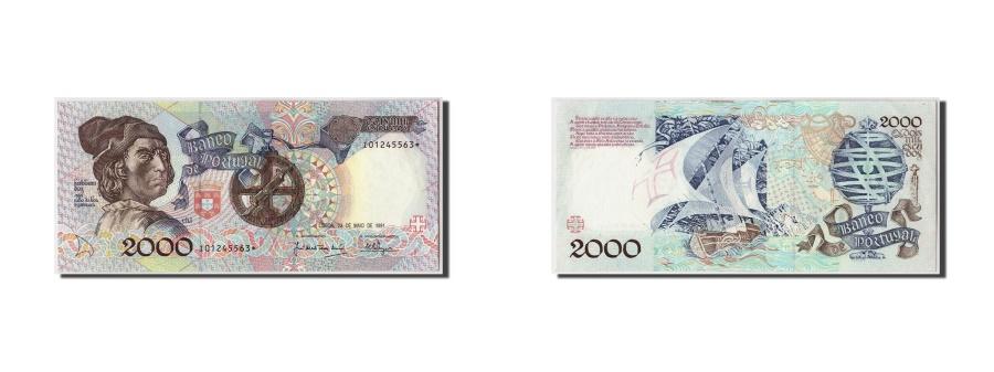 World Coins - Portugal, 2000 Escudos, 1991, KM #186a, 1991-05-23, UNC(63), I01245563