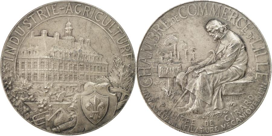 France medal chambre de commerce de la ville de lille for Chambre de commerce de france