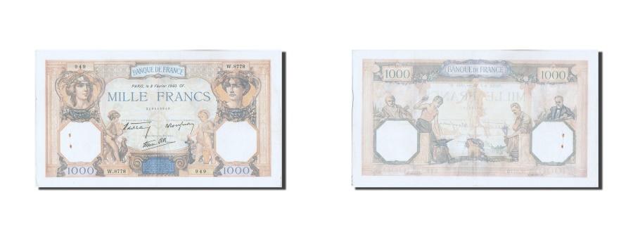 World Coins - France, 1000 Francs, 1 000 F 1927-1940 ''Cérès et Mercure'', 1940, KM #90c, 1...