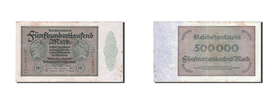 World Coins - Germany, 500,000 Mark, 1923, KM #88a, 1923-05-01, EF(40-45), 17 AB 066105