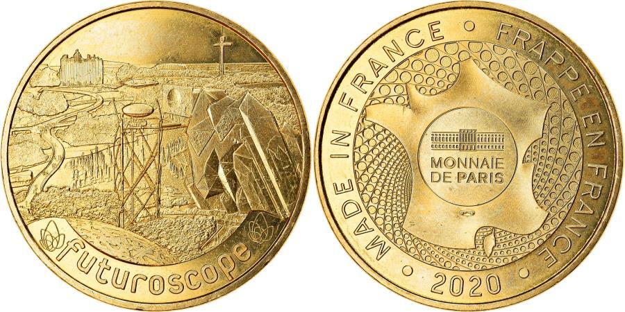 World Coins - France, Token, Jaunay-Clan - Futuroscope n°28, 2020, MDP, , Cupro-nickel