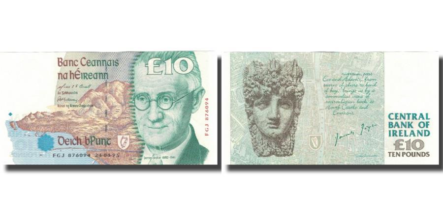World Coins - Banknote, Ireland - Republic, 10 Pounds, Undated (1993-99), KM:76b, UNC(60-62)
