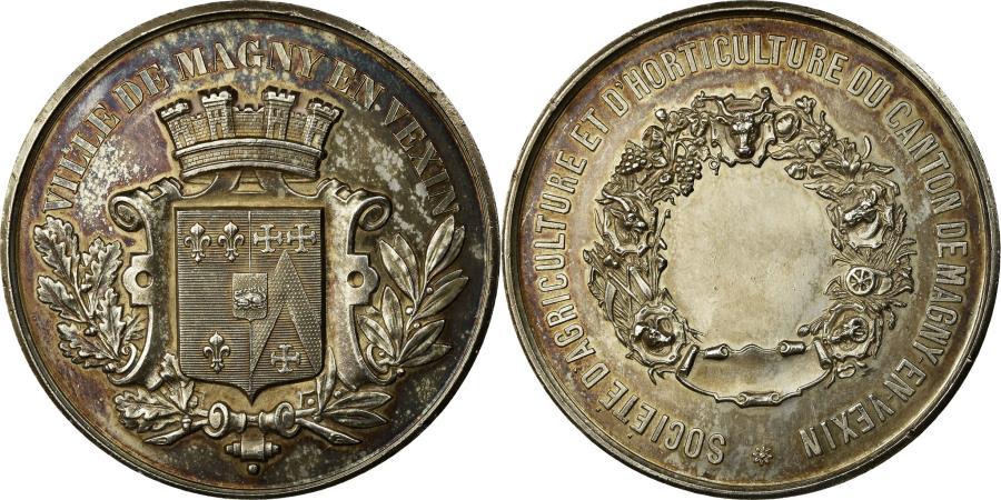 World Coins - France, Medal, Société d'Agriculture du Canton de Magny-en-Vexin,