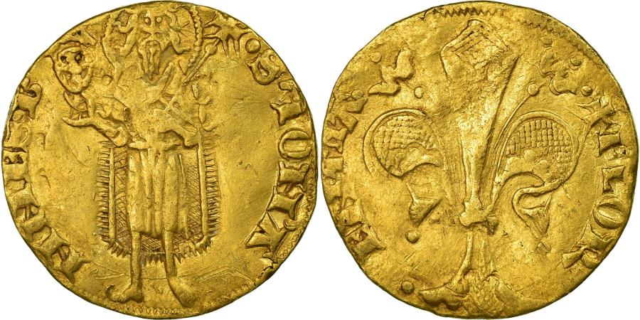 World Coins - Coin, ITALIAN STATES, TUSCANY, Florin, Florence, , Gold, Friedberg:276
