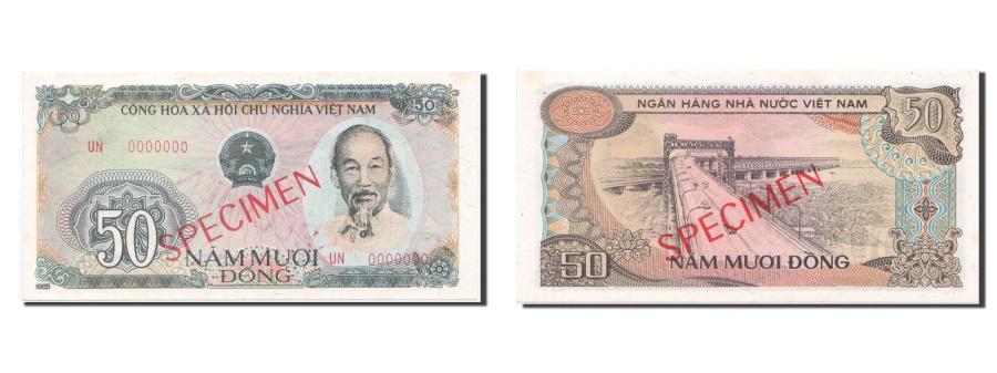 World Coins - Viet Nam, 50 Dng, 1985, KM #97s, UNC(65-70)