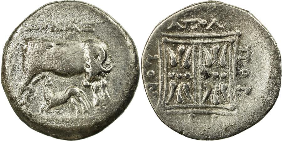 Ancient Coins - Coin, Illyria, Apollonia, Drachm, 229-100 BC, , Silver