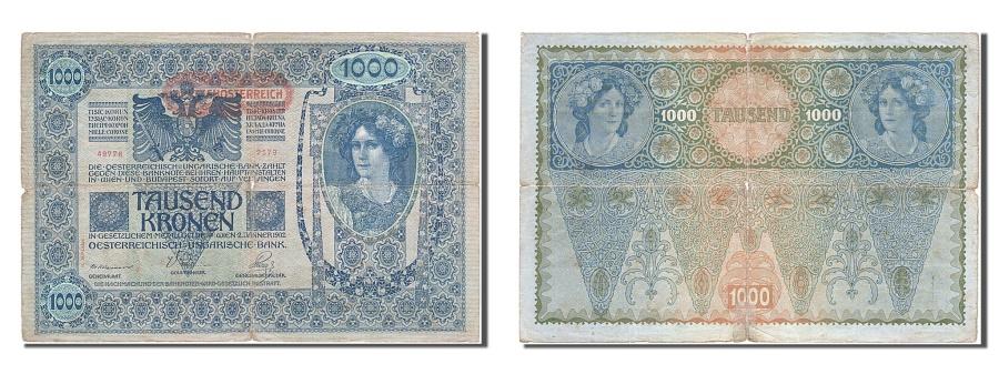 World Coins - Austria, 1000 Kronen, 1902, KM #8a, 1902-01-02, VF(30-35), 49776 2579