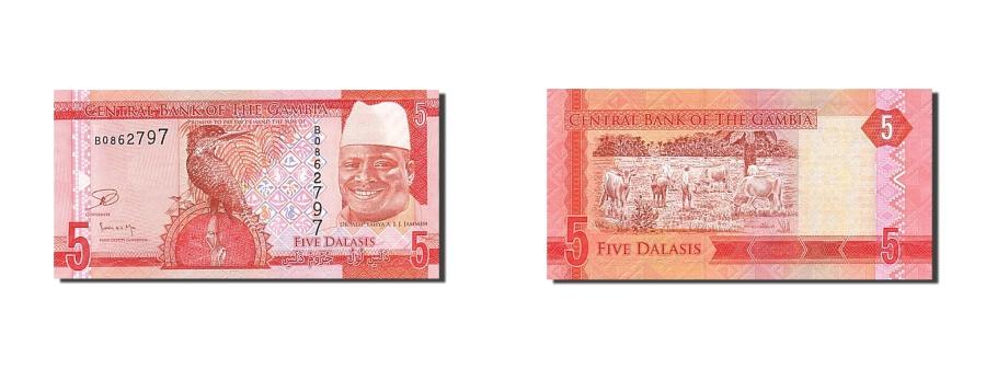 World Coins - Gambia, 5 Dalasis, 2015, 2015, UNC(65-70)