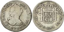 World Coins - Coin, Peru, Charles III, Real, 1783, Lima, VF(30-35), Silver, KM 75