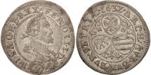 German States, SILESIA, Ferdinand II, 3 Kreuzer, 1632, Breslau, AU(55-58)