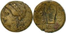 Ancient Coins - Lucania, Thurium, Bronze AE15, VF(30-35), BMC:145