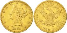 Us Coins - United States, Coronet Head, $10, 1888, New Orleans, MS(60-62), Gold, KM:102