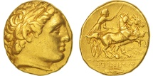 Philip II, Macedonia, Stater, 359-336 BC, AU(50-53), Gold, SNG ANS:318