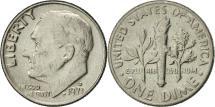 Us Coins - United States, Roosevelt Dime, Dime, 1971, U.S. Mint, Denver, AU(55-58)