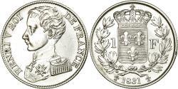 World Coins - Coin, France, Henri V, Franc, 1831, , Silver, KM:28.2, Gadoury:451